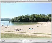 Visite virtuelle de la plage nord de Jablines