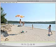 Visite virtuelle de la plage sud de Jablines